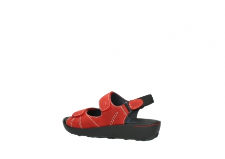 wolky sandalen 1350 lin 150 rood nubuck_3