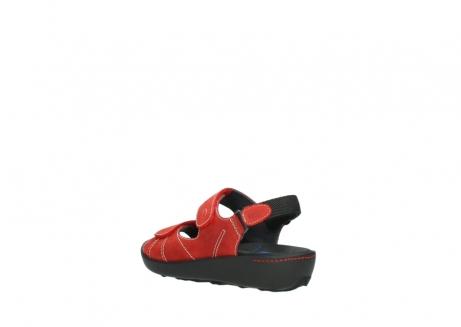 wolky sandalen 1350 lin 150 rood nubuck_4