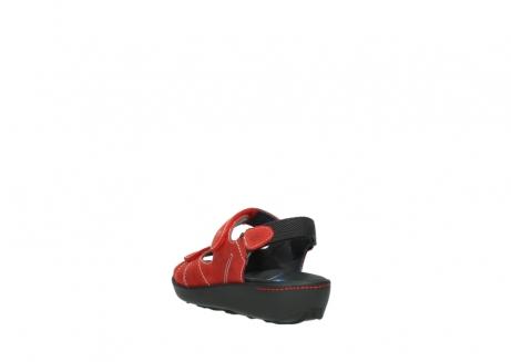 wolky sandalen 1350 lin 150 rood nubuck_5