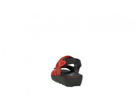 wolky sandalen 1350 lin 150 rood nubuck_6