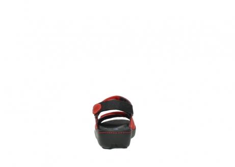 wolky sandalen 1350 lin 150 rood nubuck_7