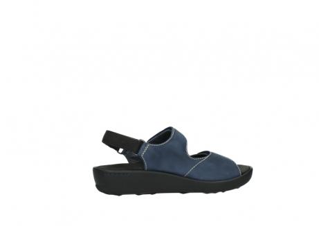 wolky sandalen 1350 lin 182 denim blauw nubuck_12