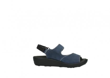 wolky sandalen 1350 lin 182 denim blauw nubuck_14