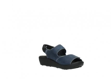 wolky sandalen 1350 lin 182 denim blauw nubuck_16