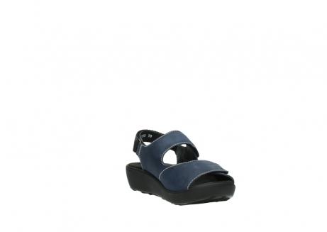 wolky sandalen 1350 lin 182 denim blauw nubuck_17