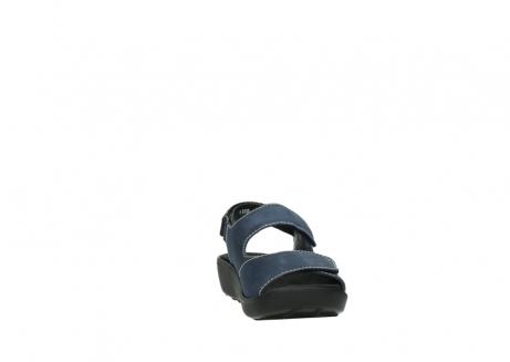 wolky sandalen 1350 lin 182 denim blauw nubuck_18