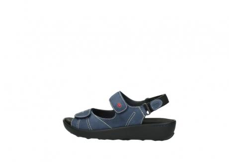 wolky sandalen 1350 lin 182 denim blauw nubuck_2