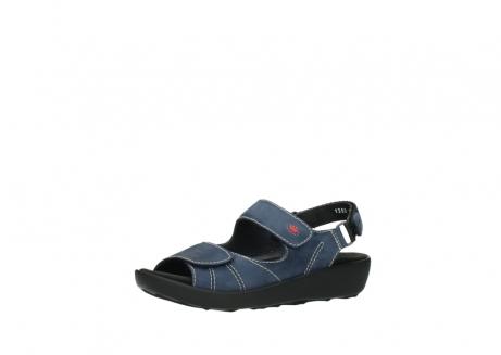 wolky sandalen 1350 lin 182 denim blauw nubuck_23