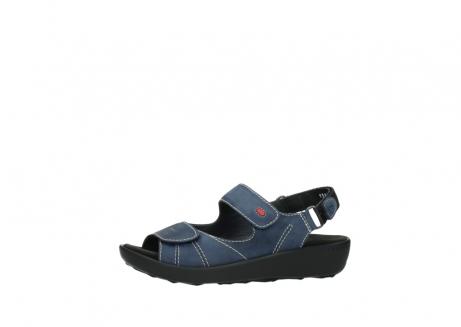 wolky sandalen 1350 lin 182 denim blauw nubuck_24