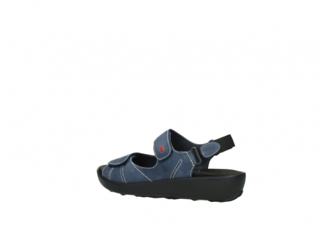 wolky sandalen 1350 lin 182 denim blauw nubuck_3