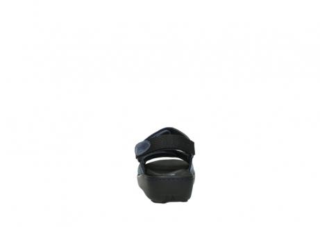 wolky sandalen 1350 lin 182 denim blauw nubuck_7