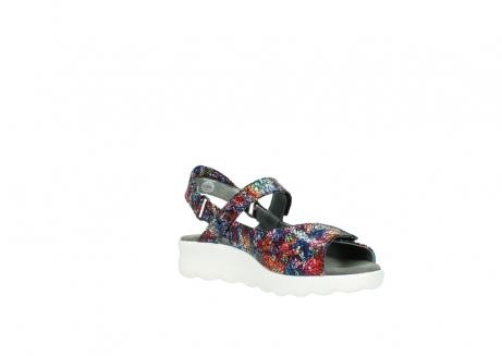 wolky sandalen 1890 pitchu 997 multi color craquele leer_16
