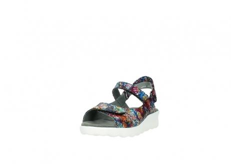 wolky sandalen 1890 pitchu 997 multi color craquele leer_21