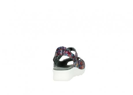 wolky sandalen 1890 pitchu 997 multi color craquele leer_8