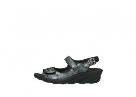 wolky sandalen 3125 scala 100 zwart antraciet geborsteld nubuck_1