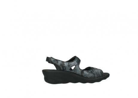 wolky sandalen 3125 scala 100 zwart antraciet geborsteld nubuck_12
