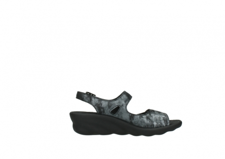 wolky sandalen 3125 scala 100 zwart antraciet geborsteld nubuck_13