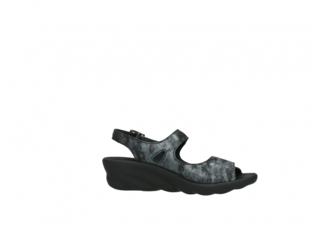 wolky sandalen 3125 scala 100 zwart antraciet geborsteld nubuck_14