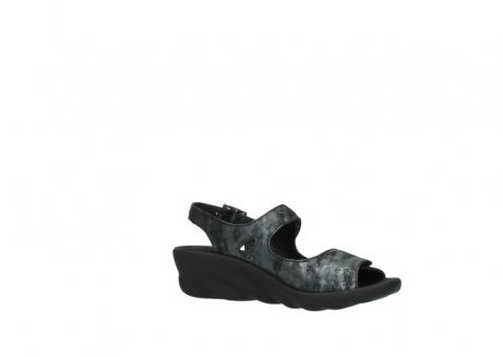 wolky sandalen 3125 scala 100 zwart antraciet geborsteld nubuck_15