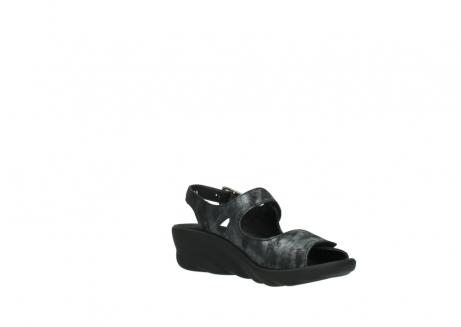 wolky sandalen 3125 scala 100 zwart antraciet geborsteld nubuck_16