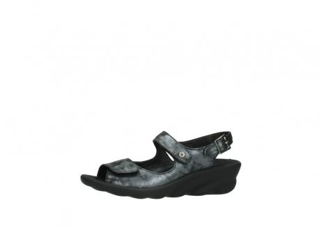 wolky sandalen 3125 scala 100 zwart antraciet geborsteld nubuck_24