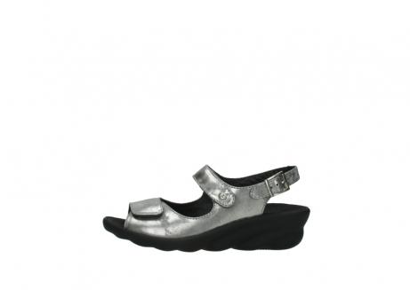 wolky sandalen 3125 scala 120 grijs zilver nubuck_1