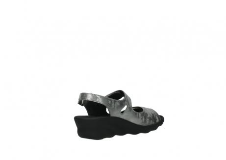 wolky sandalen 3125 scala 120 grijs zilver nubuck_10