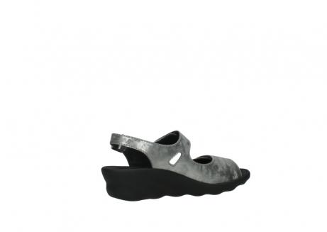 wolky sandalen 3125 scala 120 grijs zilver nubuck_11