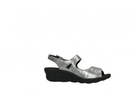 wolky sandalen 3125 scala 120 grijs zilver nubuck_14