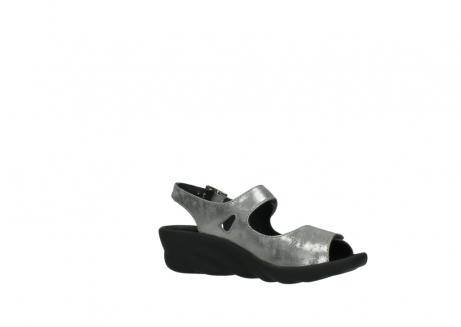 wolky sandalen 3125 scala 120 grijs zilver nubuck_15