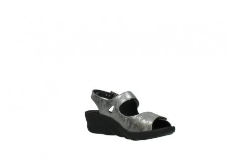 wolky sandalen 3125 scala 120 grijs zilver nubuck_16