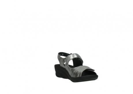 wolky sandalen 3125 scala 120 grijs zilver nubuck_17