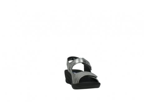 wolky sandalen 3125 scala 120 grijs zilver nubuck_18