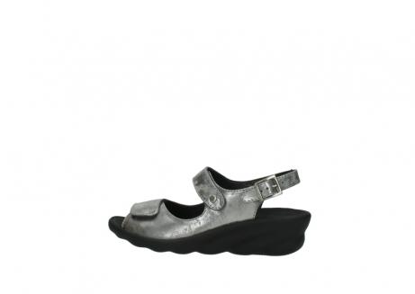 wolky sandalen 3125 scala 120 grijs zilver nubuck_2