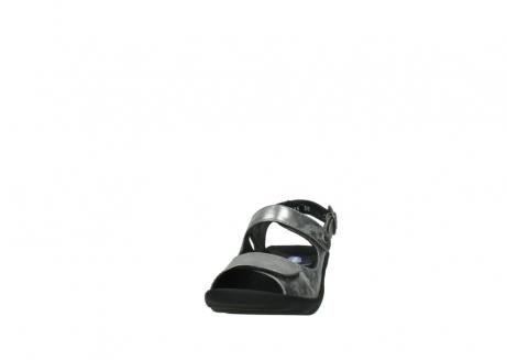 wolky sandalen 3125 scala 120 grijs zilver nubuck_20
