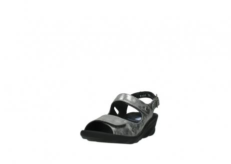wolky sandalen 3125 scala 120 grijs zilver nubuck_21
