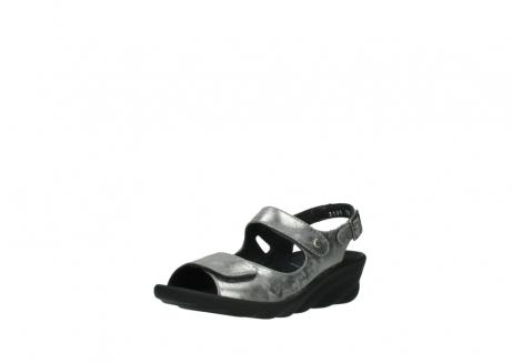 wolky sandalen 3125 scala 120 grijs zilver nubuck_22