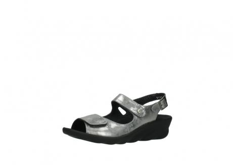 wolky sandalen 3125 scala 120 grijs zilver nubuck_23