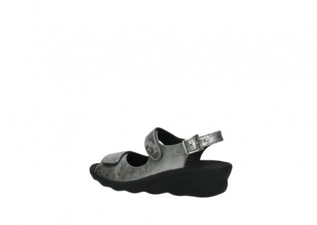 wolky sandalen 3125 scala 120 grijs zilver nubuck_3