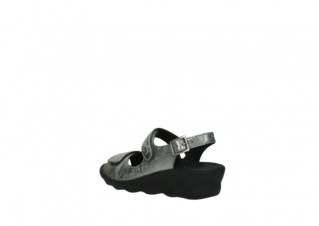 wolky sandalen 3125 scala 120 grijs zilver nubuck_4