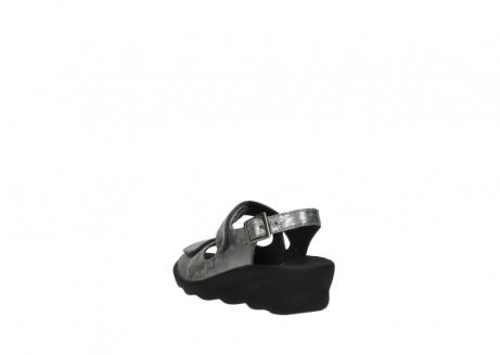 wolky sandalen 3125 scala 120 grijs zilver nubuck_5