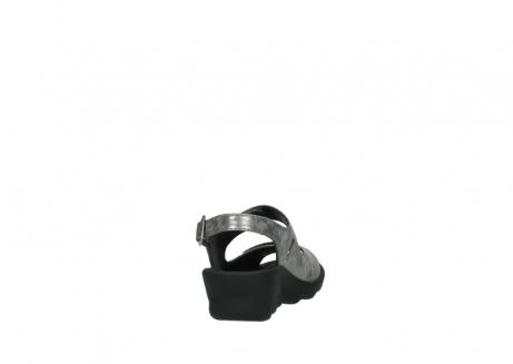 wolky sandalen 3125 scala 120 grijs zilver nubuck_8