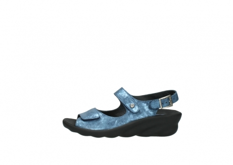 wolky sandalen 3125 scala 180 blauw nubuck_1