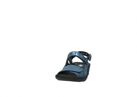 wolky sandalen 3125 scala 180 blauw nubuck_20