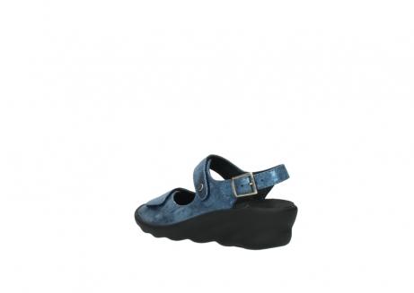 wolky sandalen 3125 scala 180 blauw nubuck_4