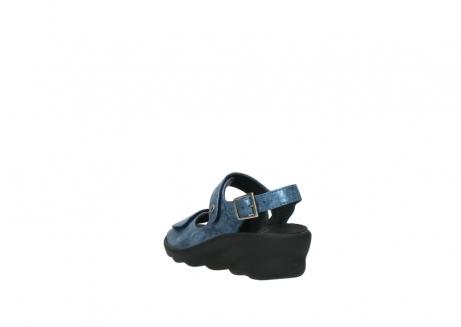 wolky sandalen 3125 scala 180 blauw nubuck_5