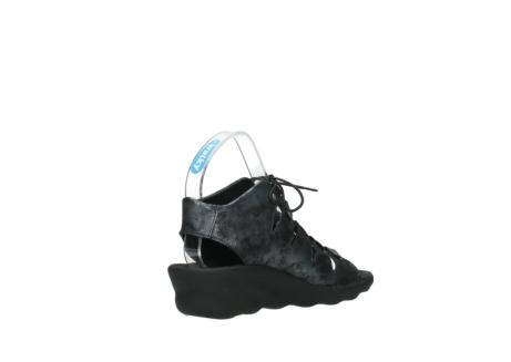 wolky sandalen 3126 arena 100 zwart antraciet geborsteld nubuck_10