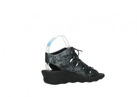 wolky sandalen 3126 arena 100 zwart antraciet geborsteld nubuck_11