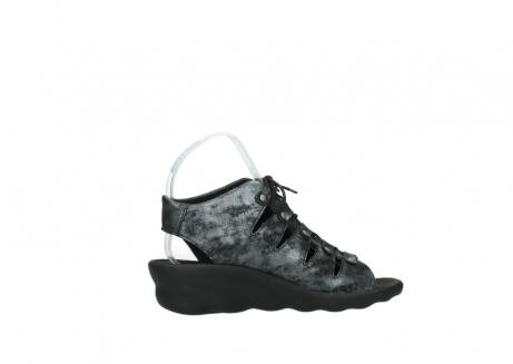 wolky sandalen 3126 arena 100 zwart antraciet geborsteld nubuck_12