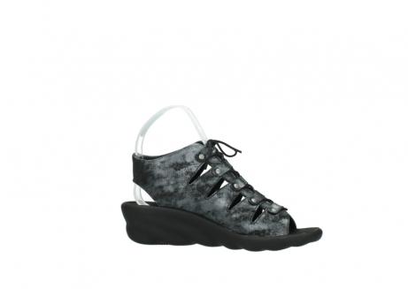 wolky sandalen 3126 arena 100 zwart antraciet geborsteld nubuck_14
